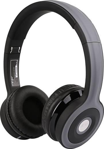 Bluetooth® Kopfhörer Minix NT-II On Ear Faltbar, Headset, NFC Schwarz