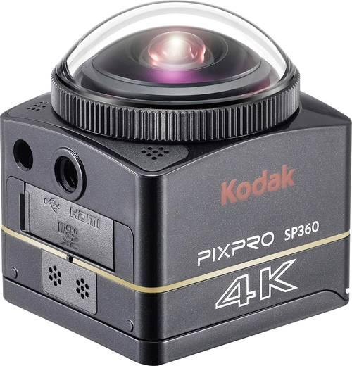 Action Cam Kodak PIXPRO Extreme Pack 4K-BK8 4K, Full-HD, 360°, Frostbeständig, Stoßfest, Staubgeschützt, Wasserfest, WLA