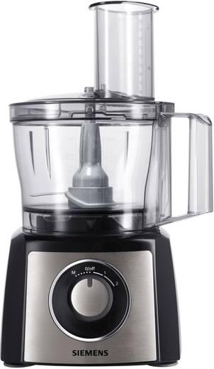 Küchenmaschine Siemens MK3501M 800 W Schwarz, Edelstahl (gebürstet ...