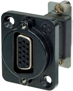 Image of D-SUB Adapter D-SUB-Buchse 15pol. - D-SUB-Buchse 15pol. Neutrik NADB15FF-B 1 St.