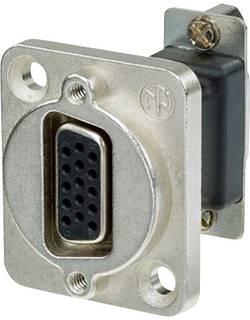 Image of D-SUB Adapter D-SUB-Buchse 15pol. - D-SUB-Buchse 15pol. Neutrik NADB15FF 1 St.