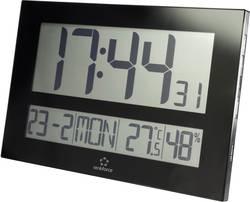 DCF nástěnné hodiny Renkforce C8461, černá