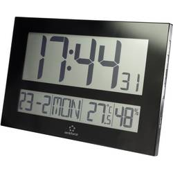 DCF nástenné hodiny Renkforce C8461, čierna