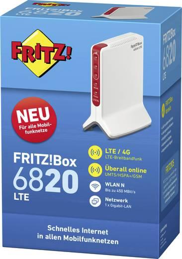 AVM FRITZ!Box 6820 LTE WLAN Router Integriertes Modem: LTE 2.4 GHz 450 MBit/s