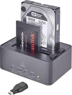 Dokovací stanice pro pevný disk Renkforce rf-docking-10 RF-4263357, SATA, USB 3.0