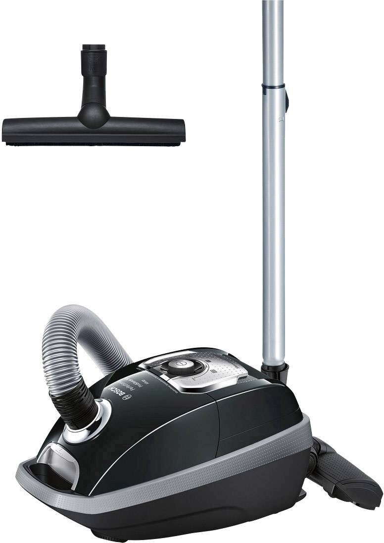 Bagged Vacuum Cleaner Bosch Haushalt BGL8334 Perfectionist ProSilence 59  EEC A Black