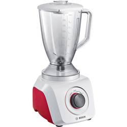 Stolný mixér Bosch Haushalt MMB21P0R, 500 W, bieločervená