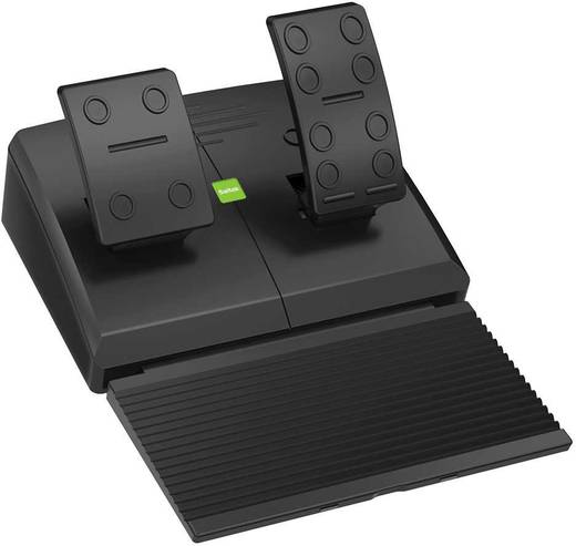 Lenkrad Saitek Landwirtschaftssimulator Set USB PC Schwarz inkl. Pedale, inkl. Bedienfeld