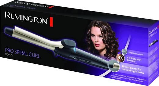 Lockenstab Remington Pro Spiral Curl Lockenstab Schwarz mit Lockenfunktion, automatische Abschaltung
