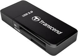 Externí čtečka paměťových karet Transcend RDP5 TS-RDP5K, USB 2.0, černá