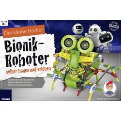 Experimentálny box Franzis Verlag Bionik-Roboter selber bauen und erleben 65326