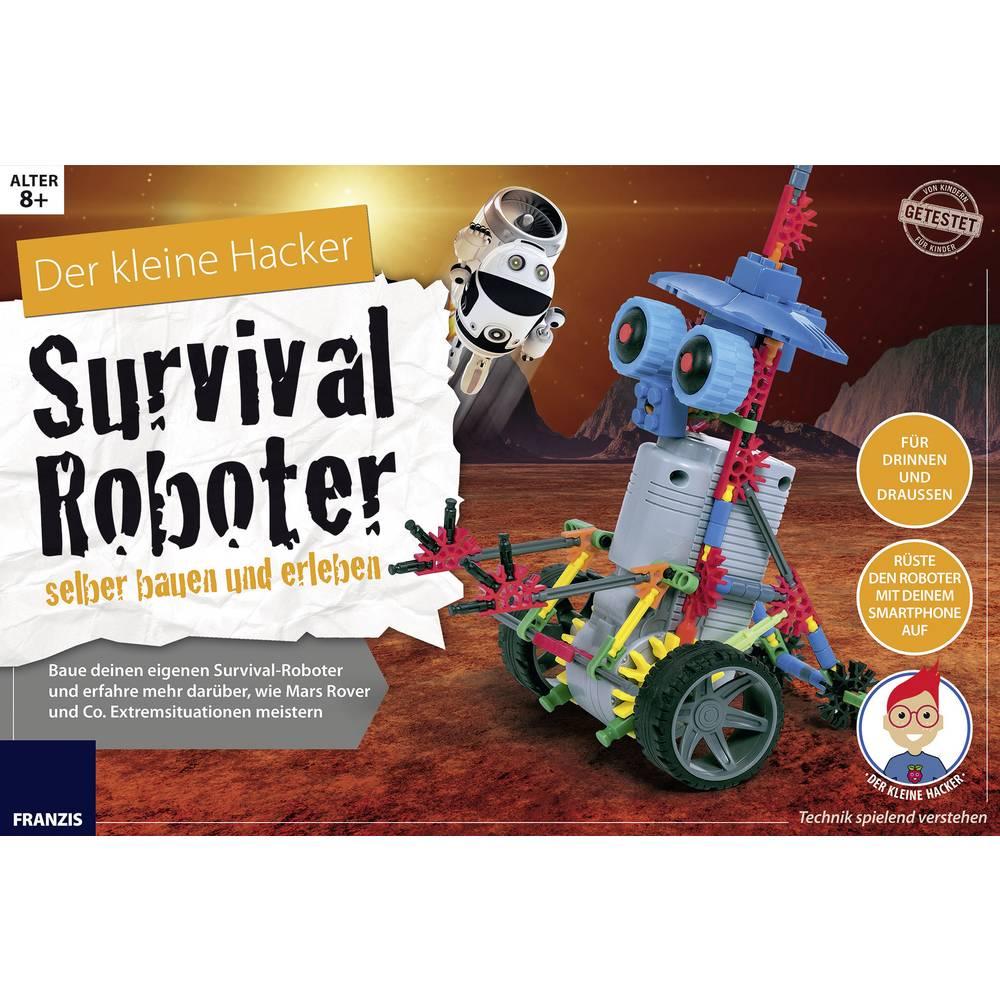roboter bausatz franzis verlag der kleine hacker survival roboter selber bauen und erleben 978. Black Bedroom Furniture Sets. Home Design Ideas