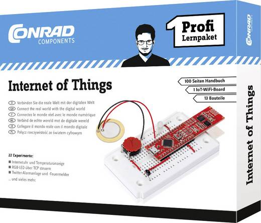 Lernpaket Conrad Components Profi Lernpaket Internet of Things 10215 ab 14 Jahre