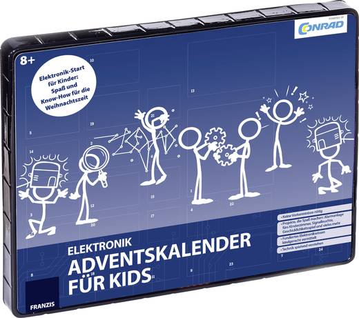 conrad components elektronik adventskalender f r kids ab 8 jahre kaufen. Black Bedroom Furniture Sets. Home Design Ideas