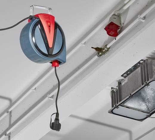 Wandkabeltrommel 10 m Schwarz Schutzkontakt-Stecker TOOLCRAFT 3200 W