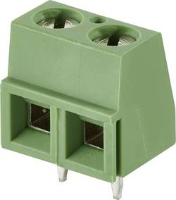 Bornier à vis TE Connectivity 282837-4 1.40 mm² Nombre total de pôles 4 vert 1 pc(s)