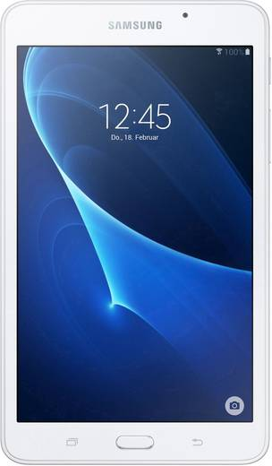 Samsung Galaxy Tab A Android-Tablet 17.8 cm (7 Zoll) 8 GB Wi-Fi Weiß 1.3 GHz Quad Core Android™ 5.1 Lollipop 1280 x 800