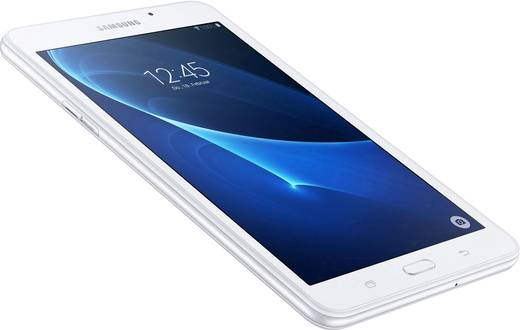 Samsung Galaxy Tab A 7.0 Android-Tablet 17.8 cm (7 Zoll) 8 GB Wi-Fi Weiß 1.3 GHz Quad Core Android™ 5.1 Lollipop 1280 x