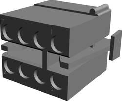 Boîtier pour contacts femelles série MATE-N-LOK TE Connectivity 1-480283-0 Nbr total de pôles 8 Pas: 5.08 mm 1 pc(s)