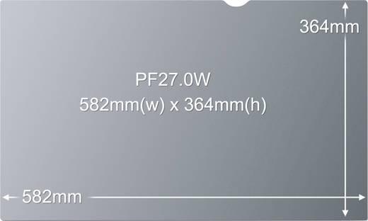 3M PF27.0W Blickschutz-Folie 68.6 cm (27 Zoll) Bildformat: 16:10 7000031975 Passend für: Monitor