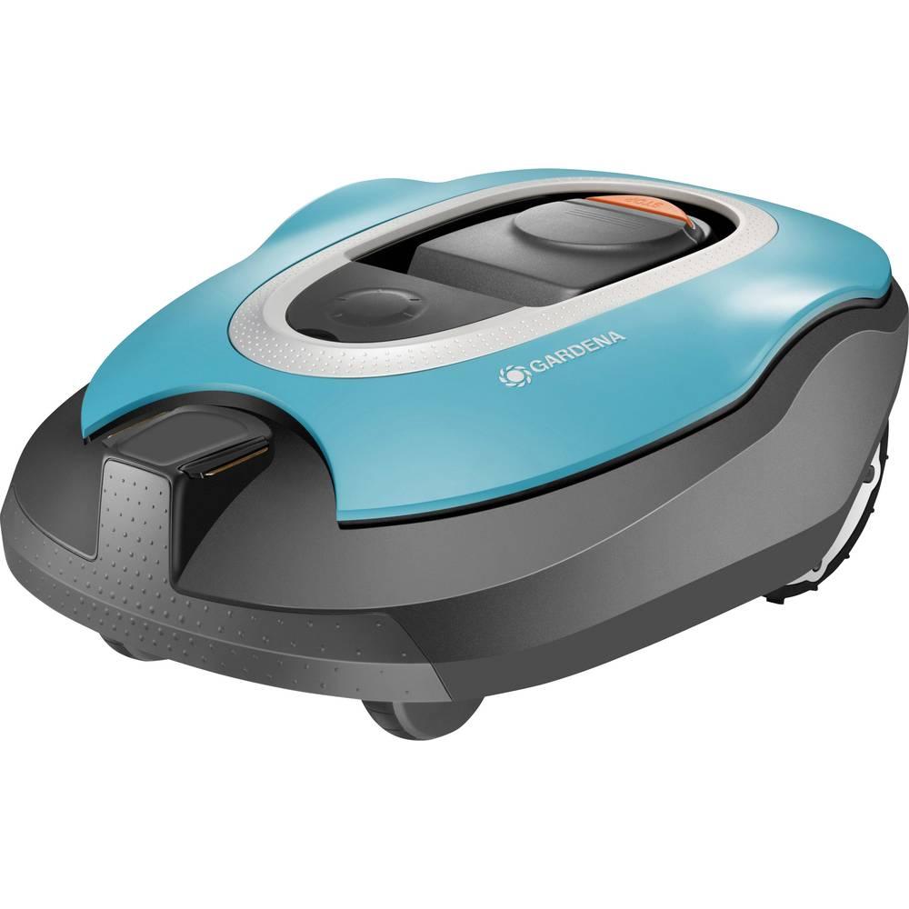 Tondeuse robot gardena r100li con u pour surface max 1000 - Robot tondeuse grande surface ...