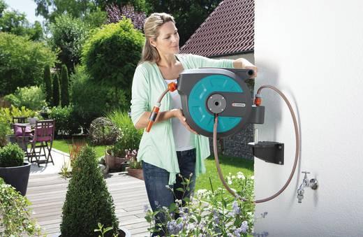 gartenschlauchtrommel 1 2 zoll 15 m grau schwarz orange gardena 08022 20. Black Bedroom Furniture Sets. Home Design Ideas