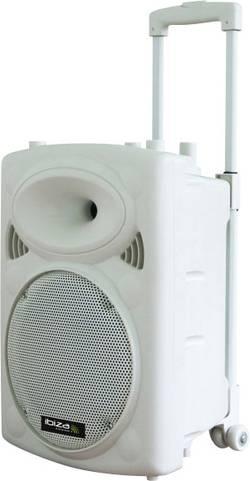 Mobilní PA reproduktor Ibiza Sound PORT12VHF-BT-WH