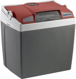 Přenosná lednice (autochladnička) MobiCool G26 DC 12 V šedá, červená 25 l