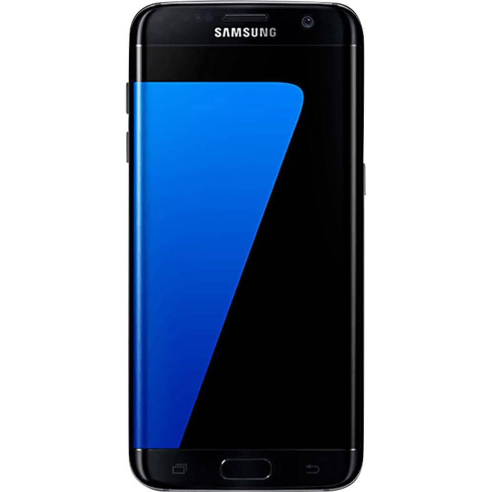 smartphone 4g 14 cm 5 5 pouces samsung galaxy s7 edge 32 go noir. Black Bedroom Furniture Sets. Home Design Ideas