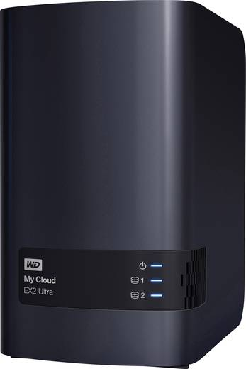 Western Digital My Cloud™ EX2 Ultra WDBVBZ0120JCH-EESN NAS-Server 12 TB Business Cloud