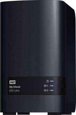 NAS server Western Digital My Cloud™ EX2 Ultra WDBVBZ0040JCH-EESN, 4 TB