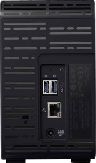 Western Digital My Cloud™ EX2 Ultra WDBVBZ0040JCH-EESN NAS-Server 4 TB Business Cloud