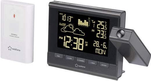Funk Projektionsuhr digital Renkforce C8416/C8339 Schwarz