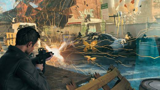 Microsoft Xbox One Konsole 500 GB Schwarz inkl. Quantum Break
