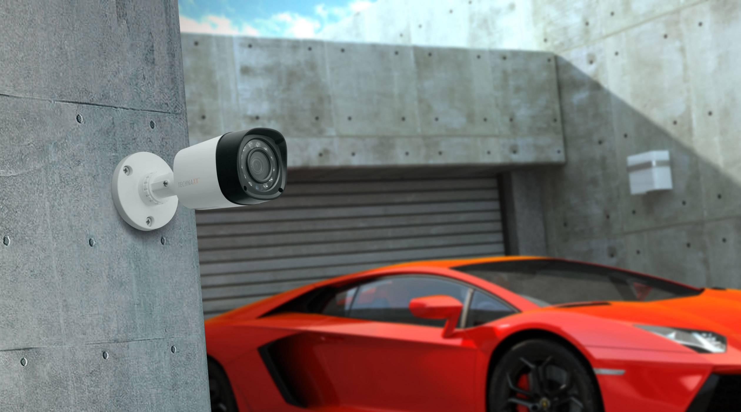Überwachungskameras für den Rundumblick