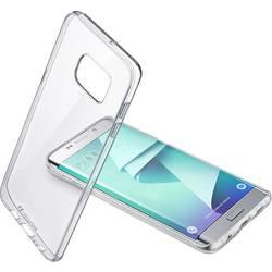 Zadní kryt na mobil Cellularline Clear Duo, vhodné pro: Samsung Galaxy S7 Edge, transparentní