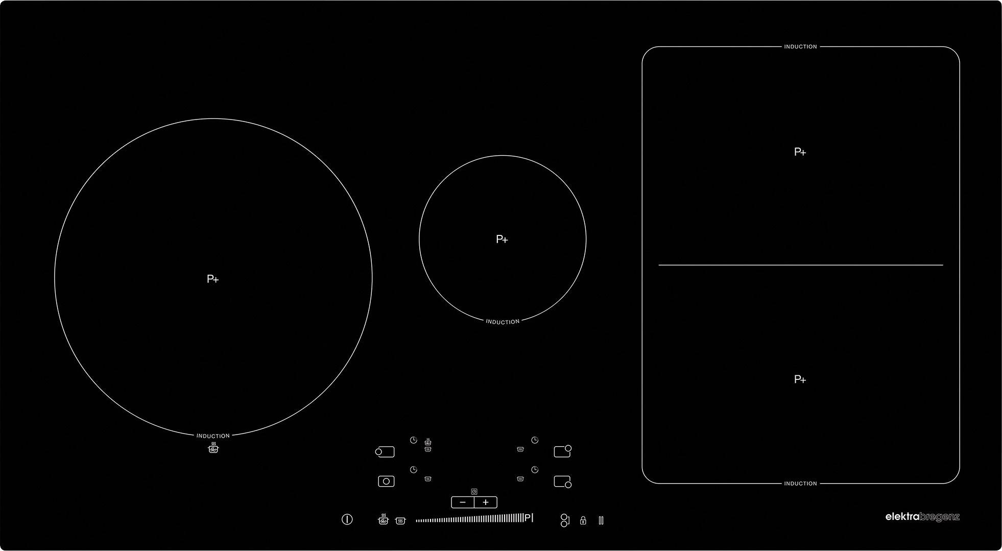 autark kochfeld top eki ec induktion autark zustand with. Black Bedroom Furniture Sets. Home Design Ideas
