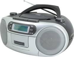DAB+ CD rádio SoundMaster SCD7900, AUX, CD, DAB+, kazeta, FM, USB, černá