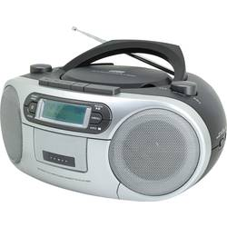 DAB + CD rádio Soundmaster SCD7900 AUX, CD, kazeta, USB čierna