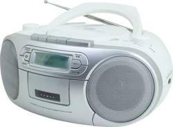 DAB+ CD rádio SoundMaster SCD7900, AUX, CD, DAB+, kazeta, FM, USB, bílá