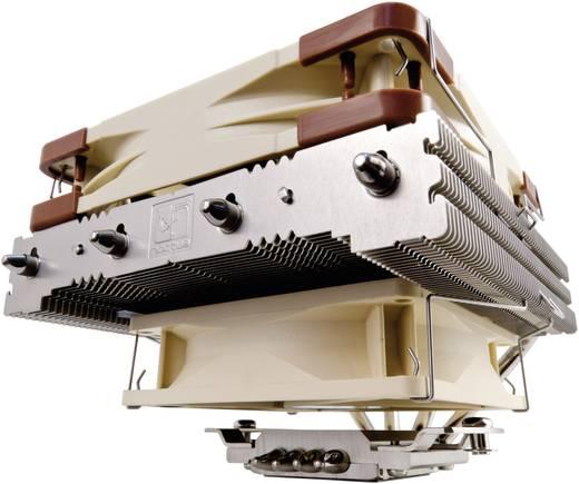 Noctua Kühler NH-L12 CPU Kühler Luft-Fördermenge 64,3 m³/h Kühlkörper-Material Kupferbasis, Kupfer-Heatpipe, Aluminium-K