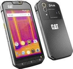 """Outdoorový smartphone CAT S60 s termokamerou FLIR, 11.9 cm 4.7 """", 32 GB, 13 MPix, černá"""