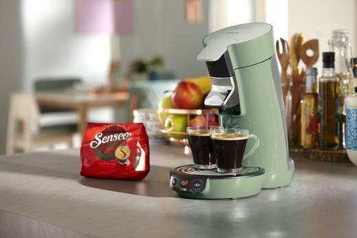 senseo viva caf hd7829 10 kaffeepadmaschine minz gr n. Black Bedroom Furniture Sets. Home Design Ideas