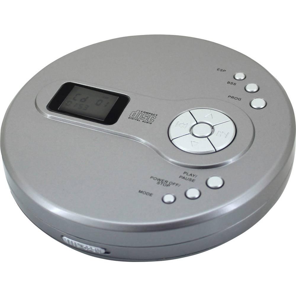 lecteur cd portable soundmaster cd9110 argent sur le site. Black Bedroom Furniture Sets. Home Design Ideas