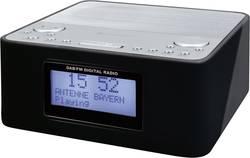 DAB+ radiobudík SoundMaster UR170SW, DAB+, FM, černá, stříbrná