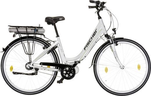 e bike mit trittantrieb fischer fahrrad ecu1603 silber li. Black Bedroom Furniture Sets. Home Design Ideas