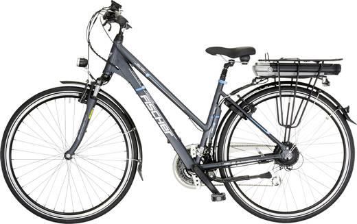 e bike mit trittantrieb fischer fahrrad etd1401 proline damen trekking 28 anthrazit grau li. Black Bedroom Furniture Sets. Home Design Ideas