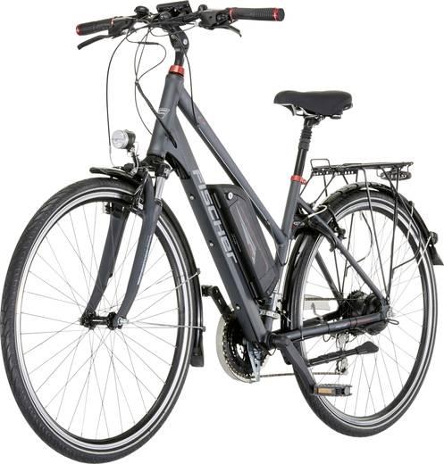 e bike mit trittantrieb fischer fahrrad etd1606 proline anthrazit grau li ion 48 v 10 5 mah. Black Bedroom Furniture Sets. Home Design Ideas
