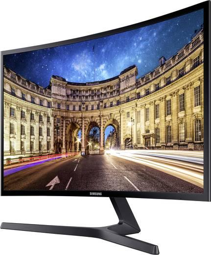 Samsung Sync Master C27F396FH LED-Monitor 68.6 cm (27 Zoll) EEK A 1920 x 1080 Pixel Full HD 4 ms HDMI™, VGA VA LED