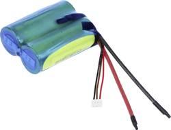 Image of Akkupack 2x 26650 Kabel, Stecker LiFePO 4 A123 Systems Reihe F1x2 6.6 V 2500 mAh